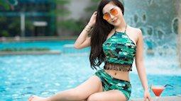 """Cô nàng BTV thời trang này sẽ chỉ cho bạn mẫu đồ bơi giúp """"kéo chân"""" cực đỉnh cho mùa đi biển"""