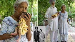 Người phụ nữ sinh con đầu lòng ở tuổi 72 với sự mong chờ bền bỉ