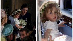 Phù dâu nhí bật khóc trong đám cưới hoàng gia gây sốt trên mạng và thân thế ít ai biết