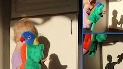 5 trò chơi với rối bóng giúp trẻ phát triển trí tưởng tượng