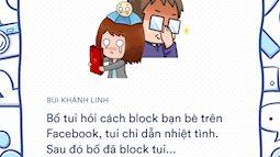 Khi bố mẹ dùng mạng xã hội: Hăng hái đăng ảnh dìm hàng, thẳng tay block con cái không chút nhân nhượng!