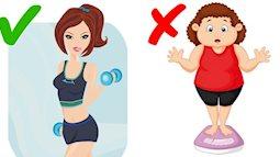 6 điều nên tránh làm vào buổi tối để hạn chế tăng cân