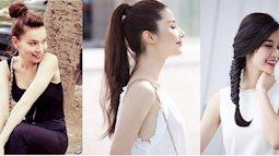 Biến tấu mái tóc dài trở nên gọn gàng, mát mẻ hơn trong những ngày hè
