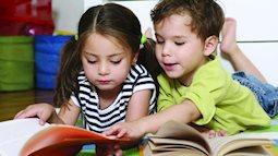 Nên tập cho trẻ thói quen đọc sách từ khi nào?