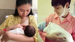 Hotboy Jay Quân chăm sóc vợ mới sinh con như thế nào?