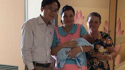 Người mẹ 4 lần mang thai mới sinh được một bé trai