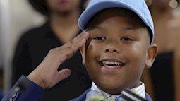 Thần đồng 11 tuổi nhận học bổng toàn phần của đại học Mỹ