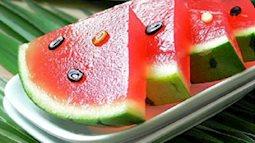 Cách làm thạch rau câu dưa hấu vừa ngon vừa đẹp mắt đảm bảo các bé thích mê