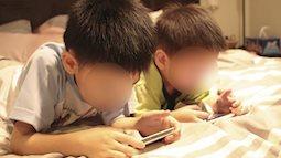 """Trẻ """"nghiện"""" điện thoại, máy tính: Coi chừng bệnh tật ập đến"""