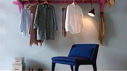 Lưu trữ quần áo giầy dép kiểu mới, nhà sẽ thoáng và phong cách hơn nhiều