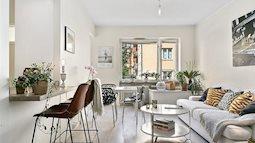 Căn hộ 35 m2 duyên dáng như nàng thơ, một thiết kế không thể hợp lý hơn cho các gia đình trẻ