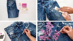 Mẹo vặt thời trang: Tái chế đồ cũ thành trang phục 'chanh sả' hiếm có khó tìm