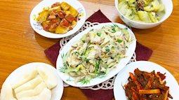Giải nhiệt mùa hè với mâm cơm 5 món đầy đủ chất cho gia đình 4 thành viên