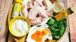 Tối nay ăn gì: Cánh gà sốt trứng muối