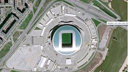 Ngắm các sân vận động World Cup 2018 từ trên cao
