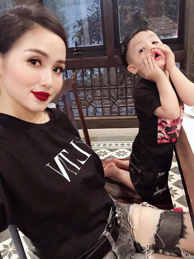 Ghen tị với tổ ấm hạnh phúc, chồng chiều con ngoan của những cựu hot girl Việt đình đám - Ảnh 18.