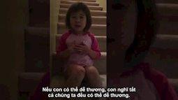 Bé 6 tuổi năn nỉ bố mẹ làm bạn sau ly hôn gây xúc động