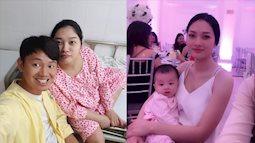 """Học lỏm bí quyết làm đẹp của bà mẹ """"hot girl"""" Hà thành: Giảm 20 kg sau hơn 2 tháng sinh nhờ cho con bú và vắt hết sữa dư"""