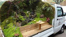 Những khu vườn trên xe tải độc đáo tại Nhật Bản