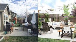 Giật mình trước sự thay đổi ngỡ ngàng của 10 thiết kế sân vườn sau cải tạo