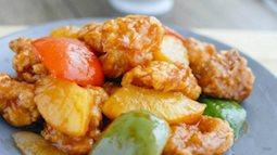 Gà sốt chua ngọt cho bữa chiều
