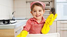 Chẳng khó khăn đâu, đây chính là những cách để bé tự nguyện làm việc nhà