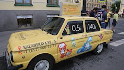 Đến Nga xem World Cup, taxi siêu rẻ nhưng hãy cẩn thận!