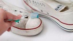 Bật mí cách làm sạch giày trắng bằng những vật dụng đơn giản tại nhà