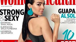 Bạn gái Ronaldo khoe vòng 3 nóng bỏng trên bìa tạp chí