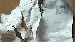 Chuột gặm nát giấy báo dự thi THPT Quốc gia 2018, thí sinh lo lắng lên mạng cầu cứu