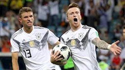 Toni Kroos ghi bàn phút cuối, Đức kịch tính thắng Thụy Điển