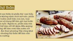 Từng phần của thịt lợn nấu món nào ngon nhất?