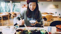 Giảm cân an toàn chỉ bằng việc thay đổi thói quen ăn uống trong ngày của người Nhật