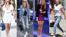 Xu hướng giày dép 2018: Giày cao gót sắp hết thời, sneaker lên ngôi?!
