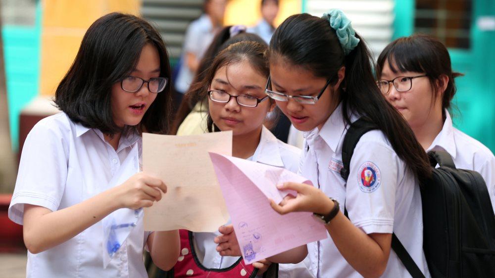 Hà Nội công bố điểm chuẩn vào lớp 10 năm 2018 của hệ không chuyên