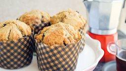 Cuối tuần đãi cả nhà muffin cà phê làm cực dễ ăn cực ngon