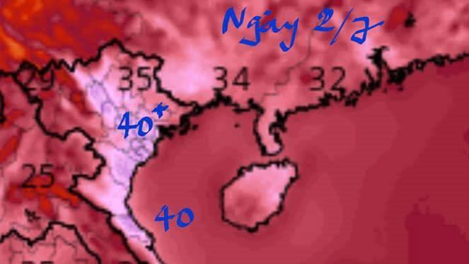 Dân tình nơm nớp lo sợ, kháo nhau về đợt nắng nóng kinh hoàng lên đến 43-45 độ trong vài ngày tới