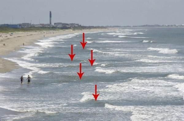 Dòng chảy của nước biển thường thay đổi thất thường hình ảnh