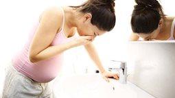 Mách mẹ 4 mẹo giảm ốm nghén khi mang thai