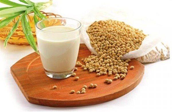 sữa đậu nành rất giàu tryptophan và serotonin hình ảnh