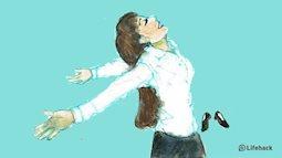 Bộ tranh: Với con gái, tuyệt nhất là những khoảng thời gian khi được ở một mình!