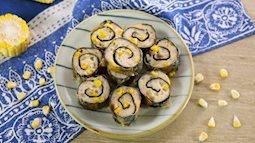 Thay đổi món ăn cho cả nhà bằng món chả tôm cuộn rong biển, vừa lạ miệng vừa dễ làm