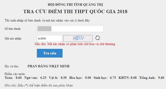 Điểm thi của Cậu bé Google Phan Đăng Nhật Minh: Tiếng Anh 9,6 Văn 6,25 - Ảnh 2.