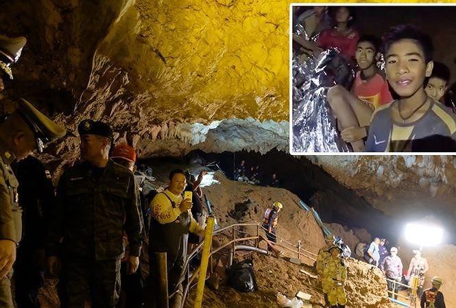 """""""Căn bệnh hang động"""" đe dọa đến sức khỏe các cầu thủ nhí Thái Lan"""