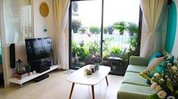 Ghé thăm căn hộ 73m² thoáng đãng, ngập tràn màu xanh cây cỏ của cô nàng cá tính