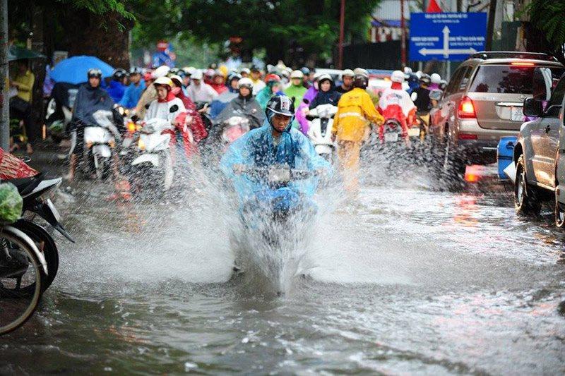 Thời tiết 29/8/2018: Bắc Trung Bộ mưa lớn đến hết tuần, Sài Gòn nắng nóng