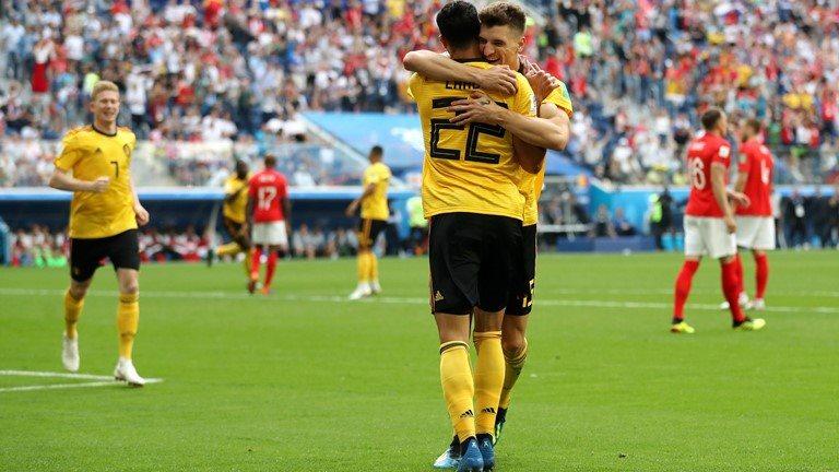 Bỉ vs Anh: Bỉ phản công xuất sắc gia tăng cách biệt