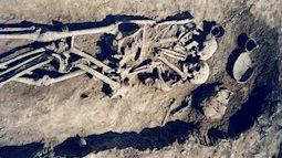 Chôn sống với chồng trong ngôi mộ cổ 3000 năm
