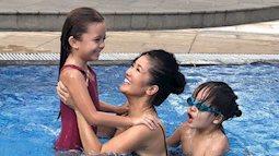 Sau khi ly hôn, ba mẹ con Hồng Nhung sống ra sao?
