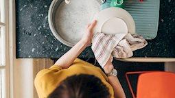 Khăn trong nhà bếp có thể là nguyên nhân gây ngộ độc thực phẩm